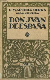 Obras Completas, Don Juan De Espana - Couverture - Format classique