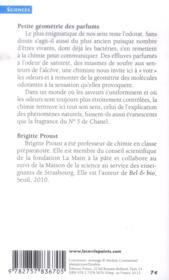 Petite géométrie des parfums - 4ème de couverture - Format classique
