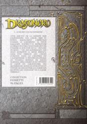 Dragonero t.2 ; le secret des alchimistes - 4ème de couverture - Format classique