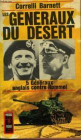 Les Generaux Du Desert - The Desert Generals - Couverture - Format classique