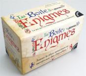 La boîte à énigmes - Couverture - Format classique