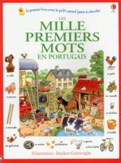 Les mille premiers mots en portugais - Couverture - Format classique