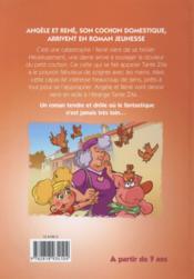 Angèle et René t.2 ; le secret de tante Zita - 4ème de couverture - Format classique