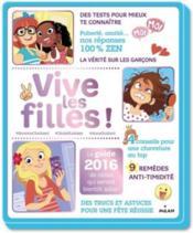 Vive les filles (édition 2016) - Couverture - Format classique