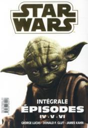 Star Wars ; INTEGRALE ; épisodes IV, V, VI - 4ème de couverture - Format classique