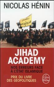 Jihad academy - Couverture - Format classique