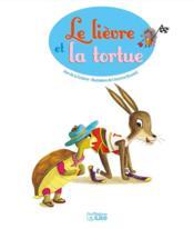 Le lièvre et la tortue - 4ème de couverture - Format classique