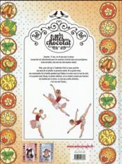 Les filles au chocolat T.3 ; coeur mandarine - 4ème de couverture - Format classique