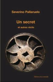 Un secret et autres récits - Couverture - Format classique