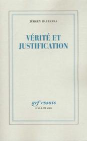 Verite Et Justification - Couverture - Format classique