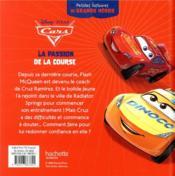 Cars ; petites histoires de grands héros ; la passion de la course - 4ème de couverture - Format classique