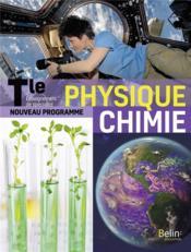 Physique chimie terminale ; manuel élève (édition 2020) - Couverture - Format classique