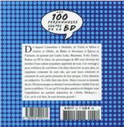 Guide Figaro ; les 100 personnages cultes de la BD - 4ème de couverture - Format classique