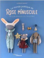 Le monde poétique de Rose Minuscule - Couverture - Format classique
