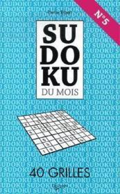 Sudoku Du Mois De Mai N.5 - Couverture - Format classique