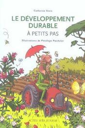 A PETITS PAS ; le développement durable - Intérieur - Format classique