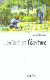 Enfant et l'ecriture (l') - Intérieur - Format classique