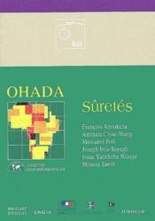 Ohada ; sûretés - Couverture - Format classique
