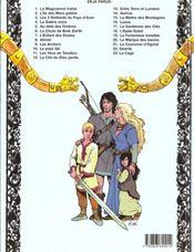 Thorgal T.3 ; les trois vieillards du pays d'Aran - 4ème de couverture - Format classique