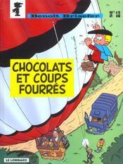 Benoît Brisefer t.12 ; chocolats et coups fourrés - Intérieur - Format classique