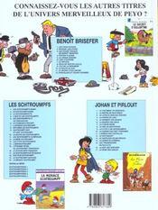 Benoît Brisefer t.12 ; chocolats et coups fourrés - 4ème de couverture - Format classique