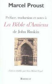 La bible d'amiens - Intérieur - Format classique