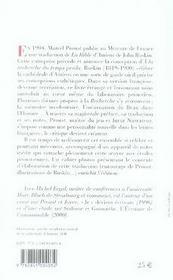 La bible d'amiens - 4ème de couverture - Format classique