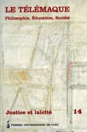 Revue Le Telemaque N.14 ; Justice Et Laïcité - Couverture - Format classique