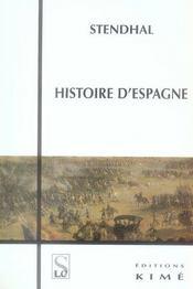 Histoire D'Espagne - Intérieur - Format classique