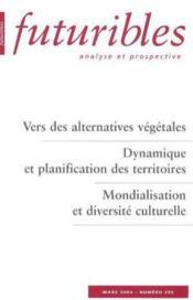 Vers des alternatives vegetales - Couverture - Format classique