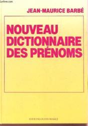 Nouveau dictionnaire des prenoms - Couverture - Format classique