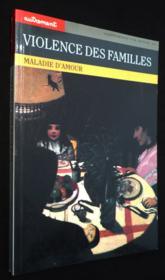 Violence des familles - Couverture - Format classique