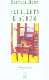 Feuillets d'album - Intérieur - Format classique