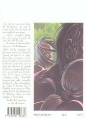 Le Prophete Rouge - 4ème de couverture - Format classique