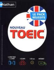 Nouveau TOEIC ; coffret (édition 2010) - Couverture - Format classique