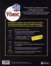 Nouveau TOEIC ; coffret (édition 2010) - 4ème de couverture - Format classique