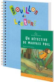 Un detective de mauvais poil-12 livres + fichier - Couverture - Format classique