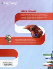 Corps humain - 4ème de couverture - Format classique