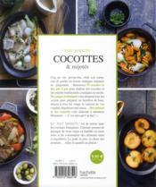 Cocottes et mijotes - 4ème de couverture - Format classique