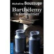 Barthélémy le ferblantier - Couverture - Format classique