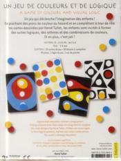 Un jeu de couleurs et de logique - 4ème de couverture - Format classique