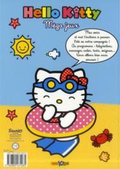 Méga jeux ; hello kitty 2013 - 4ème de couverture - Format classique