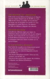 Guide Bettane et Desseauve des vins de France ; sélection 2014 - 4ème de couverture - Format classique