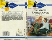 Vacances A Vancouver - Joelle Gauthier - Couverture - Format classique