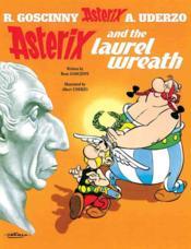 Asterix And The Laurel Wreath - Couverture - Format classique