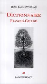 Dictionniare français-gaulois - Couverture - Format classique