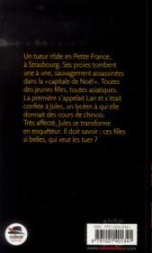 Petits meurtres en petite France - 4ème de couverture - Format classique
