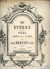 25 Etudes Pour Le Piano. - Couverture - Format classique