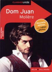 Dom Juan, de Molière - Couverture - Format classique