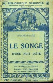 Le Songe D'Une Nuit D'Ete. - Couverture - Format classique